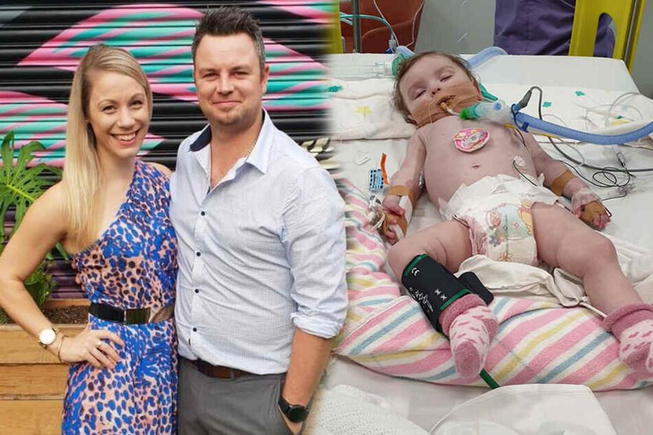 11 Monate alte Tochter liegt im Sterben: Vater hat dringende Bitte!