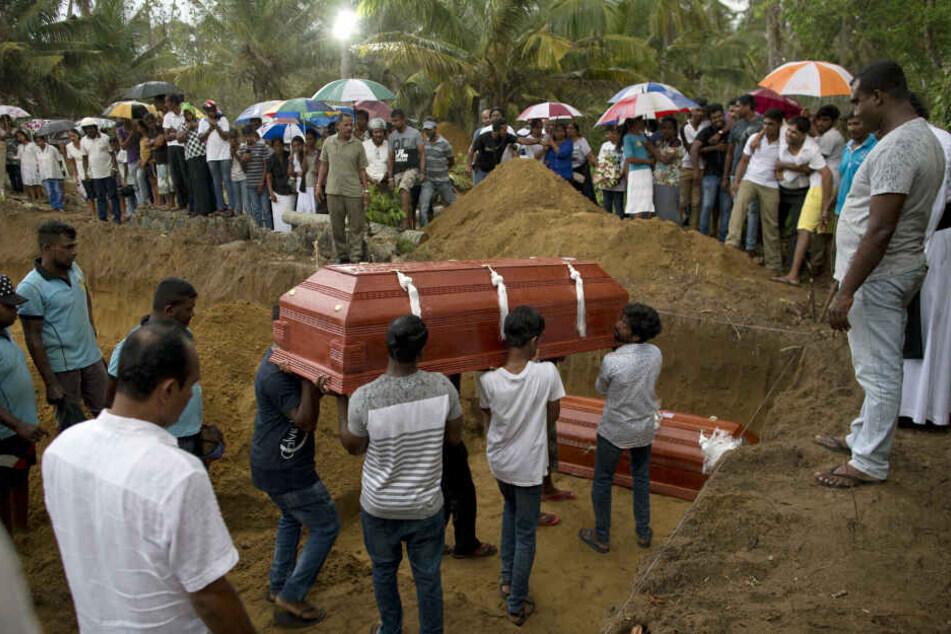 Über 300 Todesopfer forderten die Anschläge ins Sri Lanka an OStern.