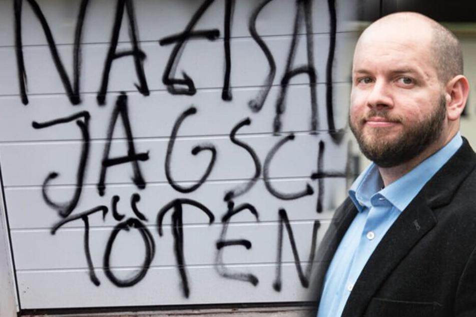 """""""Nazisau töten"""": Morddrohung gegen umstrittenen NPD-Ortsvorsteher"""