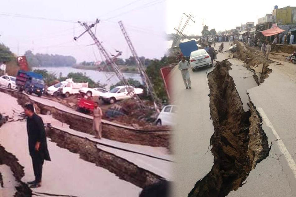 19 Tote nach Erdbeben: Erschütterungen bis in Nachbarländer zu spüren