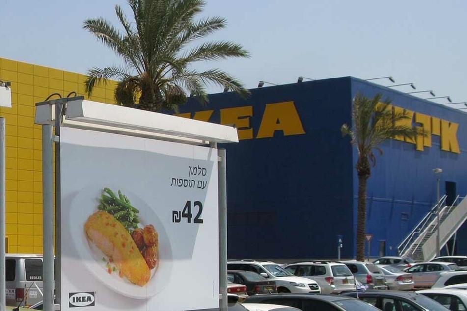 Das Ikea-Einrichtungshaus in Tel Aviv.