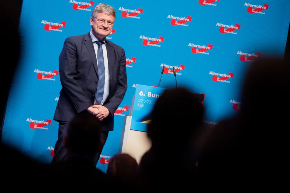 Was will die AfD mit den Daten? Dazu schwieg Parteichef Jörg Meuthen. (Archivbild)