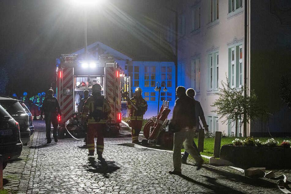 Hotel in Erfurt evakuiert: Feuer richtet hohen Schaden an