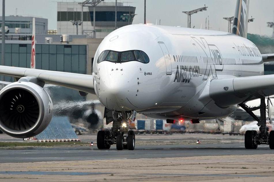 Kann im schlimmsten Fall explodieren: Das Airbus-Großraumflugzeug A350-941.