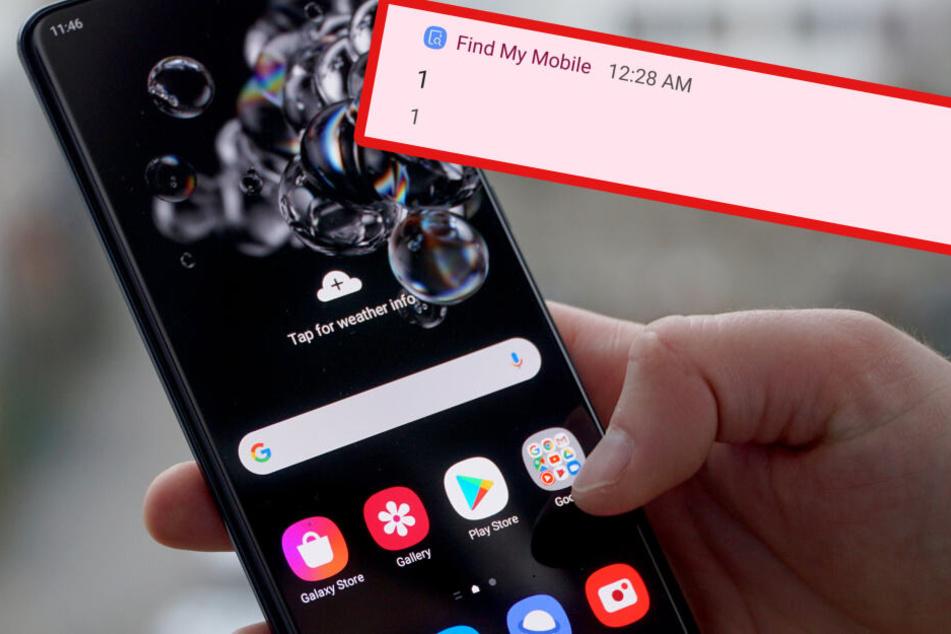 Diese mysteriöse Nachricht erschreckt Samsung-Nutzer