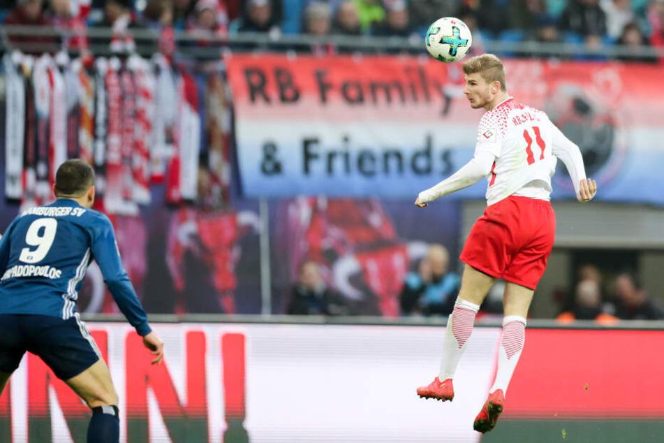 RB Leipzig wird am 23. April auf den HSV treffen.