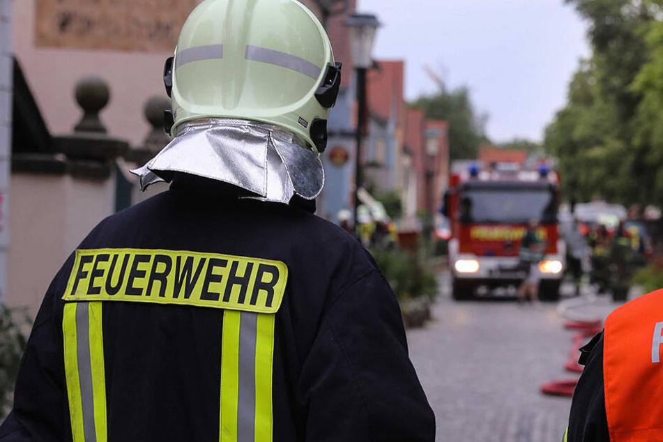 Auch die Feuerwehr war im Einsatz. (Archivbild)