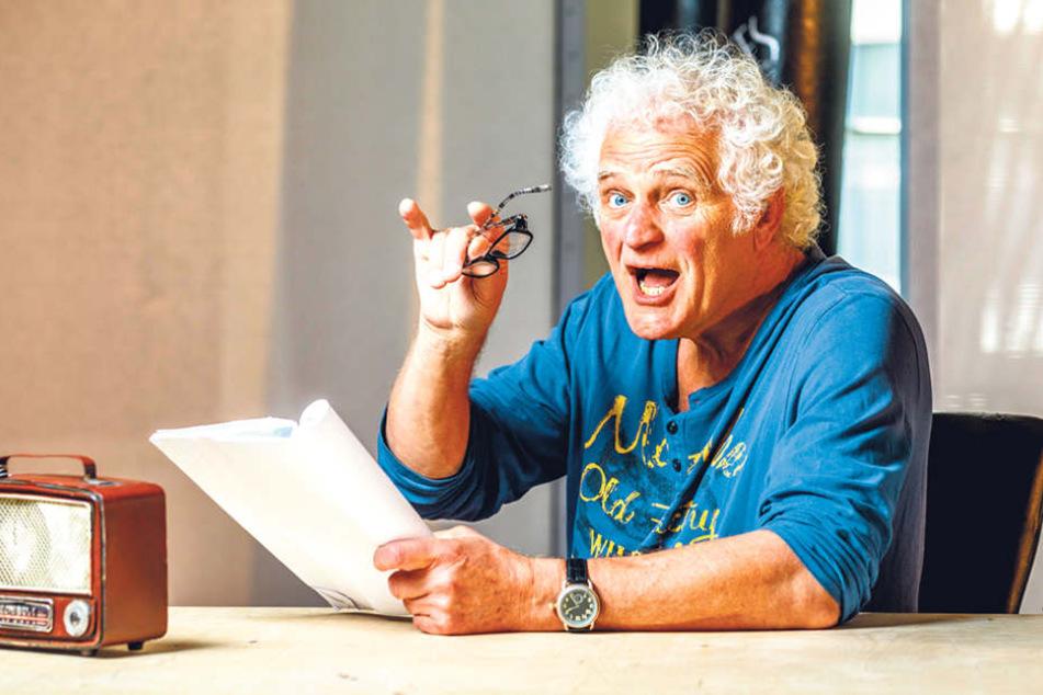 60 Jahre nach seiner Einschulung verrät Regisseur Jürgen Mai (66) im  Boulevardtheater seine größten Sünden.