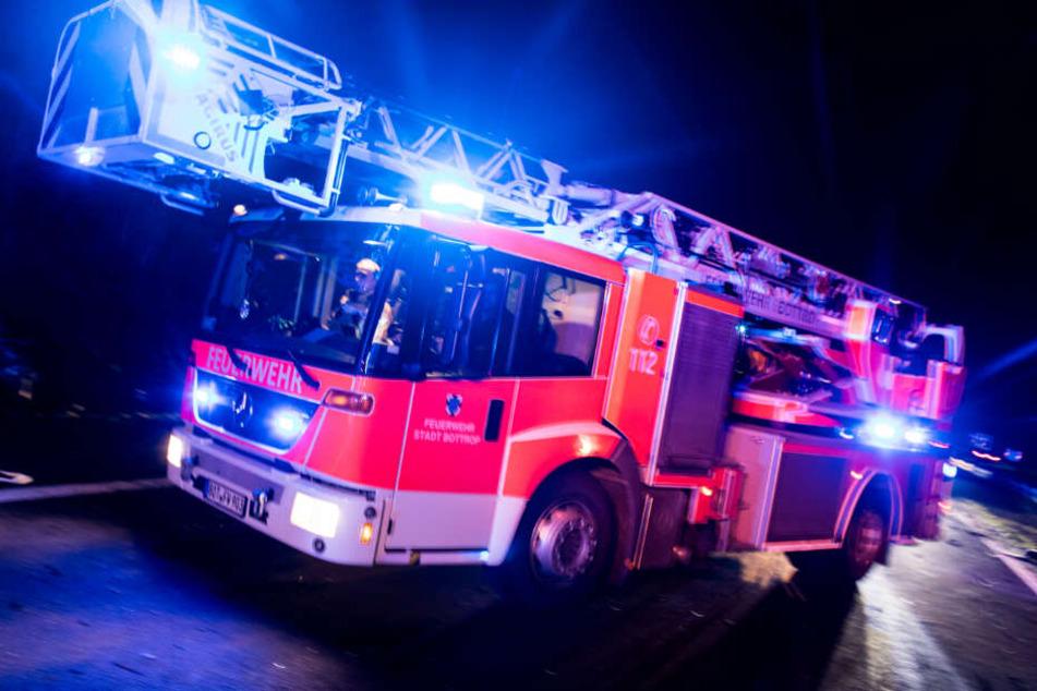 Feuerwehrhaus brennt: Polizei hat üblen Verdacht
