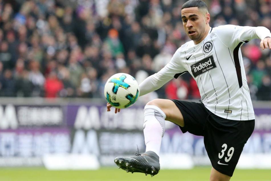 Omar Mascarell könnte der Eintracht gegen Leipzig fehlen.