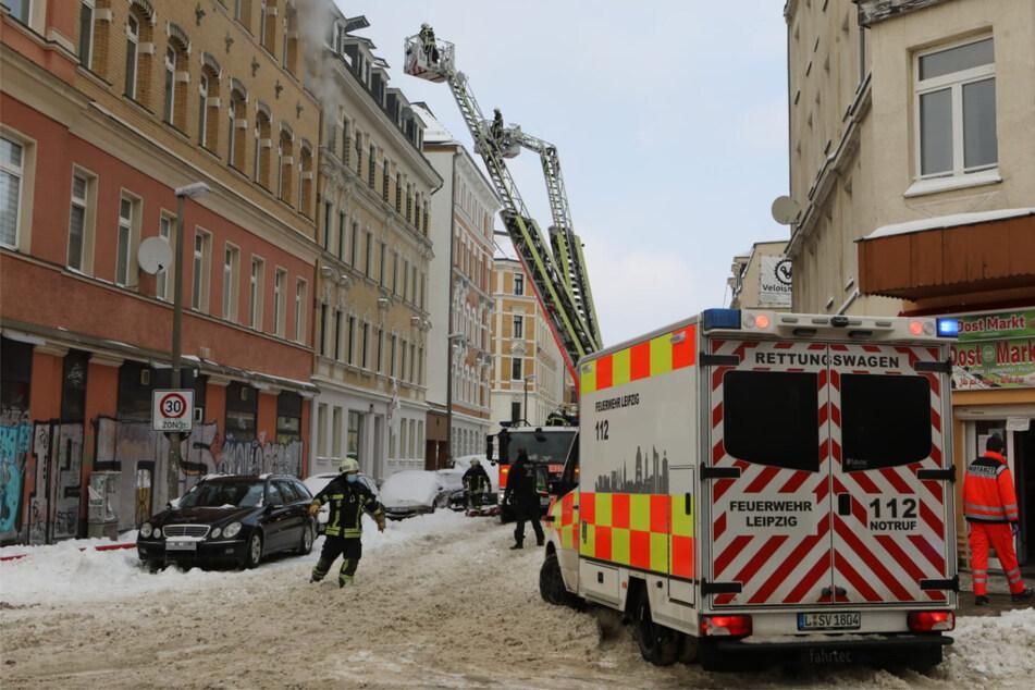 Leipzig: Nach Brand im Leipziger Osten: Zahl der Verletzten gestiegen