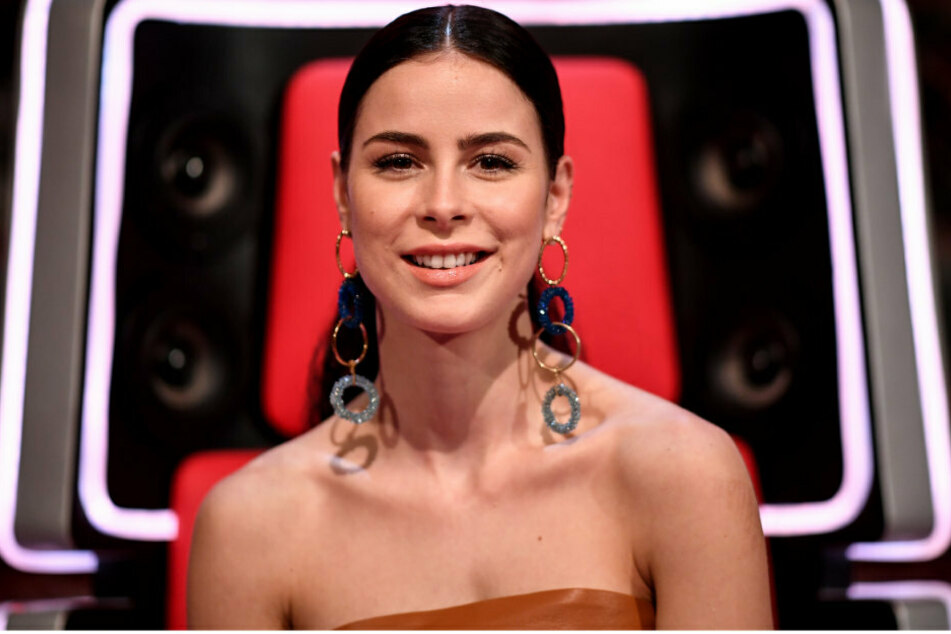 "Sängerin Lena Meyer-Landrut (29) am Rande der Sendung ""The Voice Kids"" - 8. Staffel."
