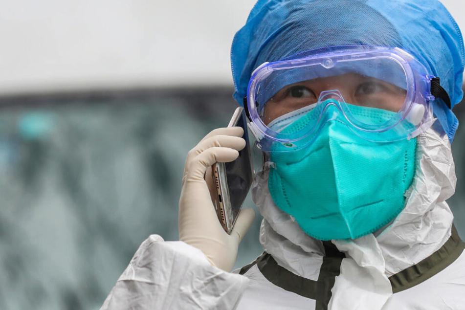 Die Stadt Wuhan in China ist am stärksten von dem neuen Coronavirus betroffen.