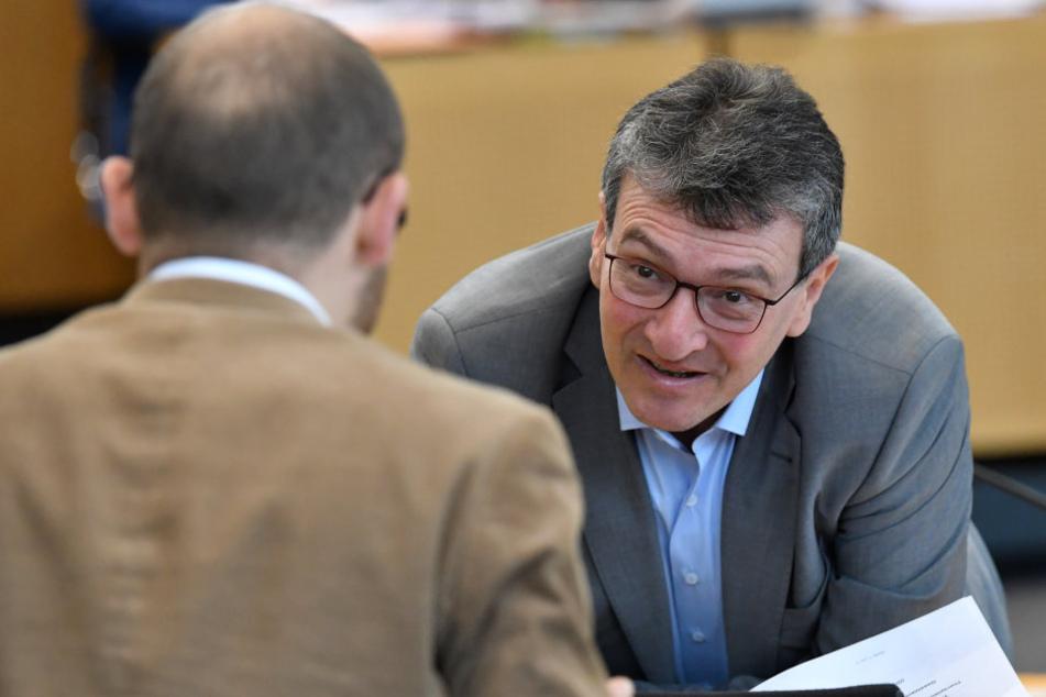 Justizminister Dieter Lauinger (Grüne) wünscht sich ein schnelles Gesetzgebungsverfahren.