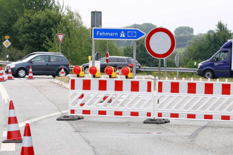 Die Autobahn 1 war mehrere Stunden voll gesperrt.