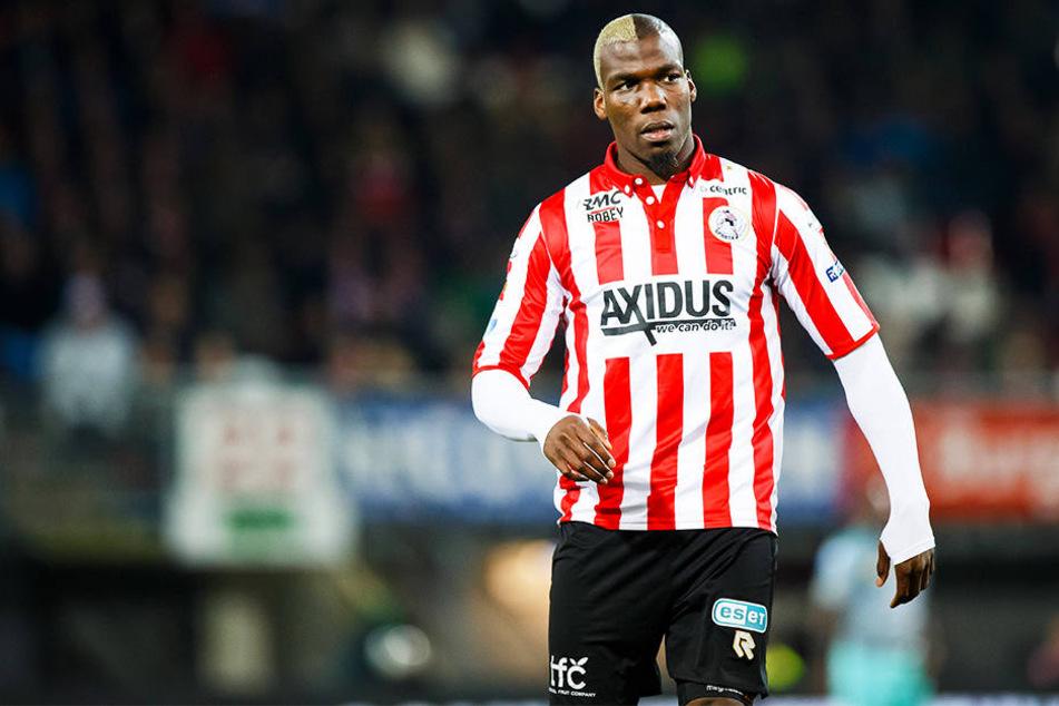 Mathias Pogba, älterer Bruder von Superstar Paul, spielte zuletzt bei Sparta Rotterdam in den Niederlanden.