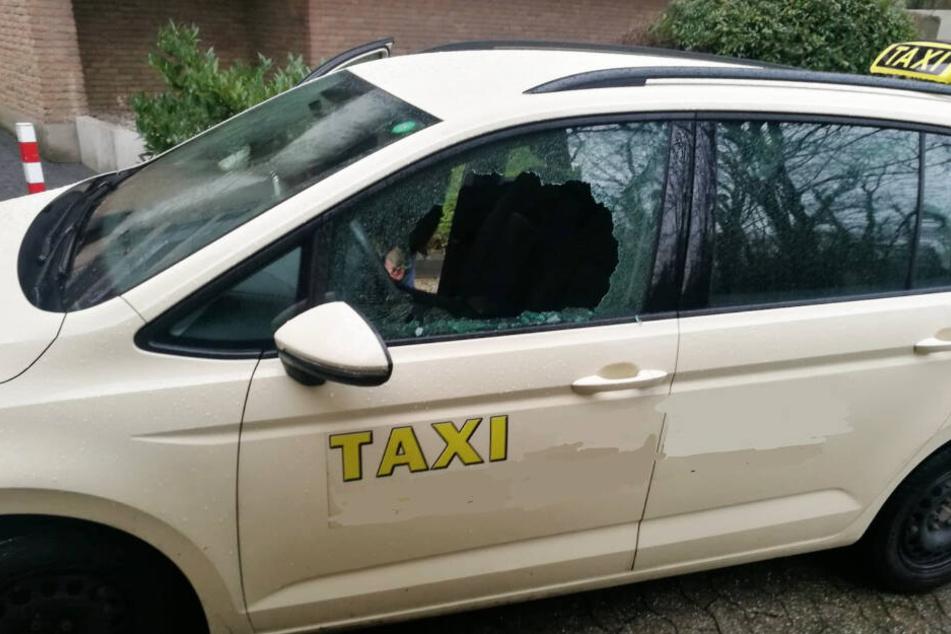 Taxifahrer wurden reihenweise ausgeplündert.
