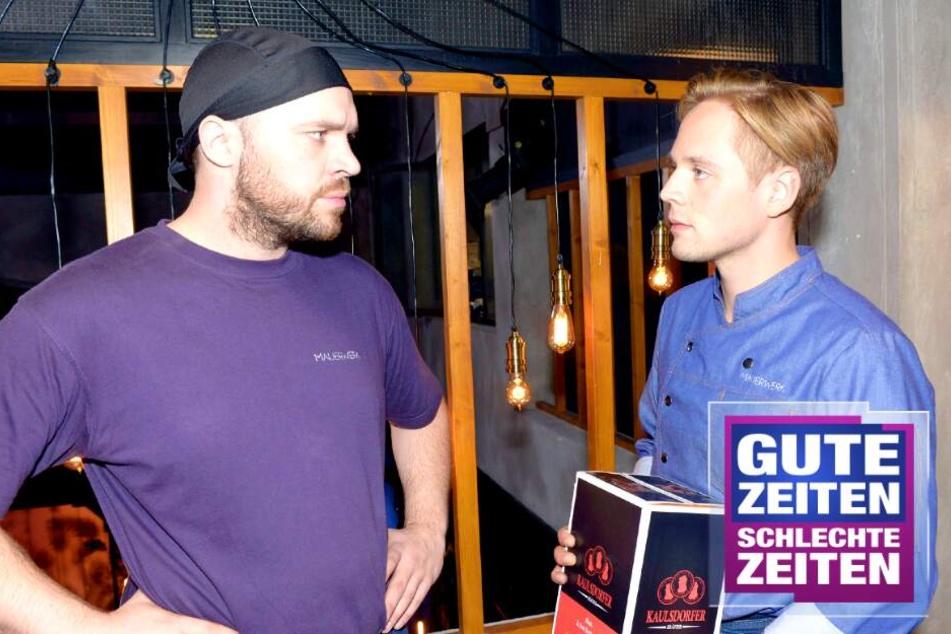 GZSZ: GZSZ: John schmeißt Lars raus, doch damit hat er nicht gerechnet!