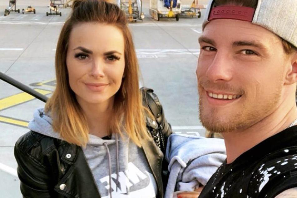 Jetzt ist es raus: Denisé und Pascal Kappès (beide 27) erwarten einen Jungen.