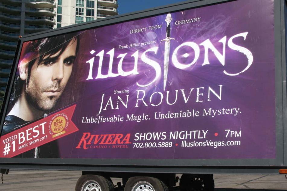 Seine Show lief über mehrere Monate in Las Vegas.