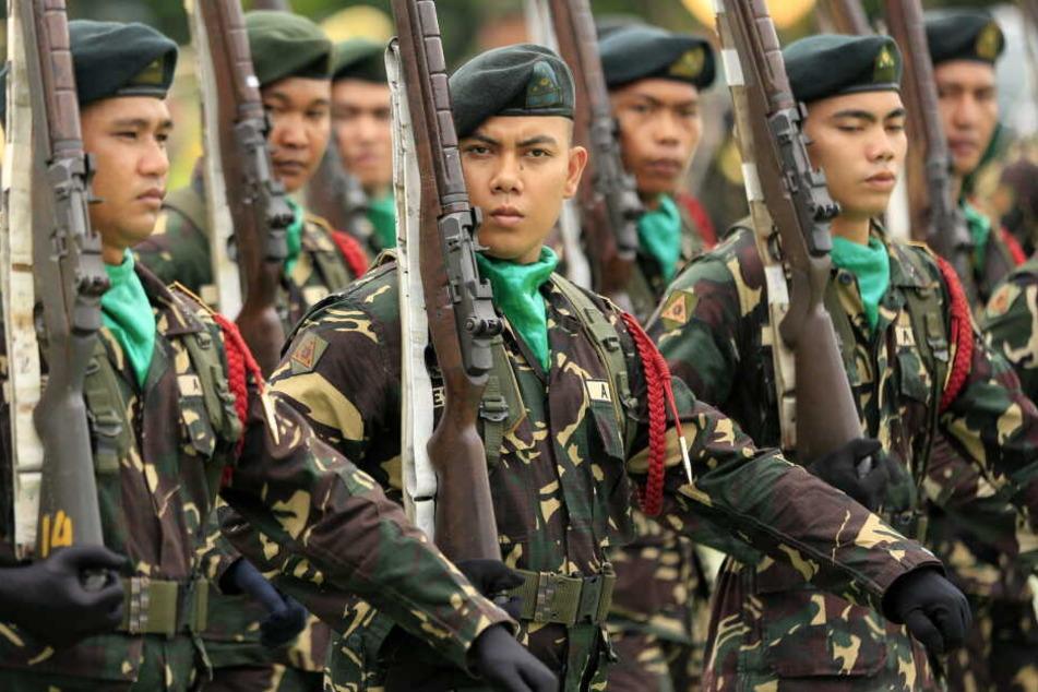 Seit Jahren kämpft das philippinische Militär gegen die islamische Terrormiliz Abu Sayyaf.