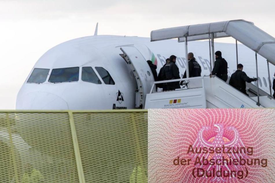 In NRW können 1700 ausreisepflichtige Ausländer aufgrund eines Attests nicht abgeschoben werden (Symbolbild).