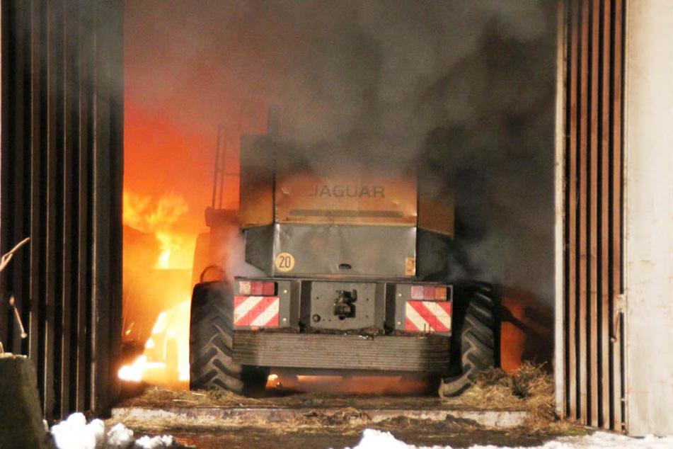 100.000 Euro Schaden bei Brand auf ehemaligem NVA-Gelände