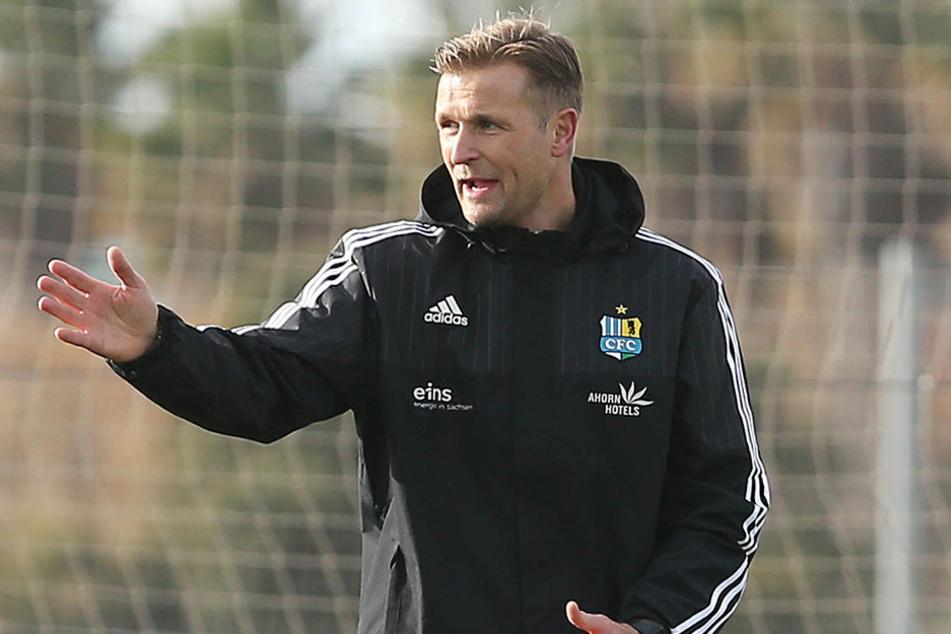 Feiert er am Samstag einen Einstand nach Maß gegen Paderborn? Trainer David Bergner.