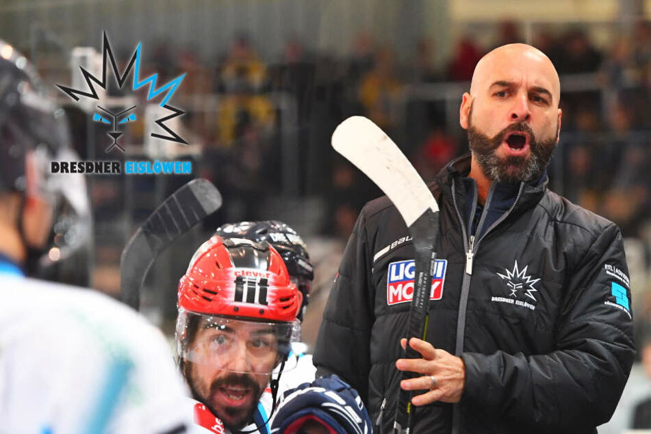 Eislöwen-Coach Rossi macht müde Männer munter!