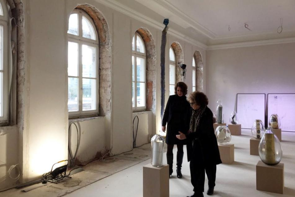 Aktuell ist das Jüdische Museum in Frankfurt noch eine gewaltige Baustelle.