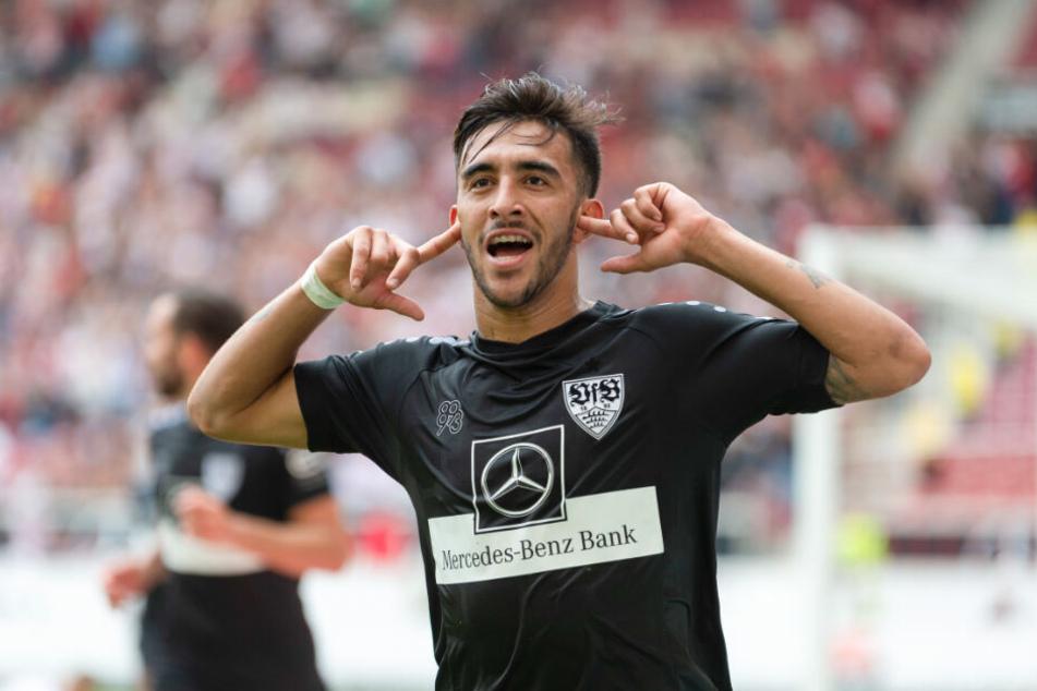 Stürmer Nicolás González erzielte den Last-Minute-Siegtreffer beim 2:1 gegen den FC St. Pauli am dritten Spieltag.