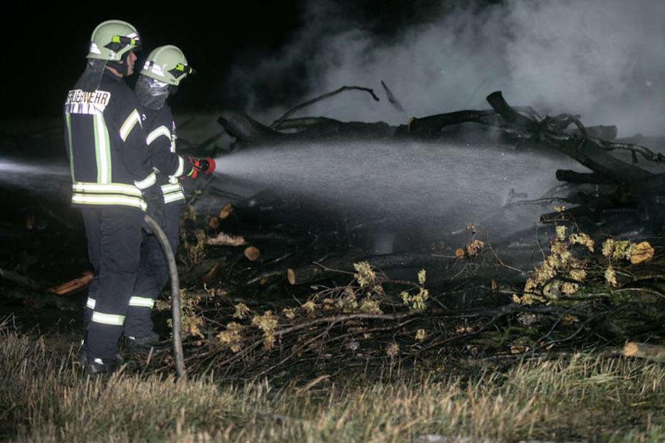Das Feuer konnte von den Einsatzkräften gelöscht werden.