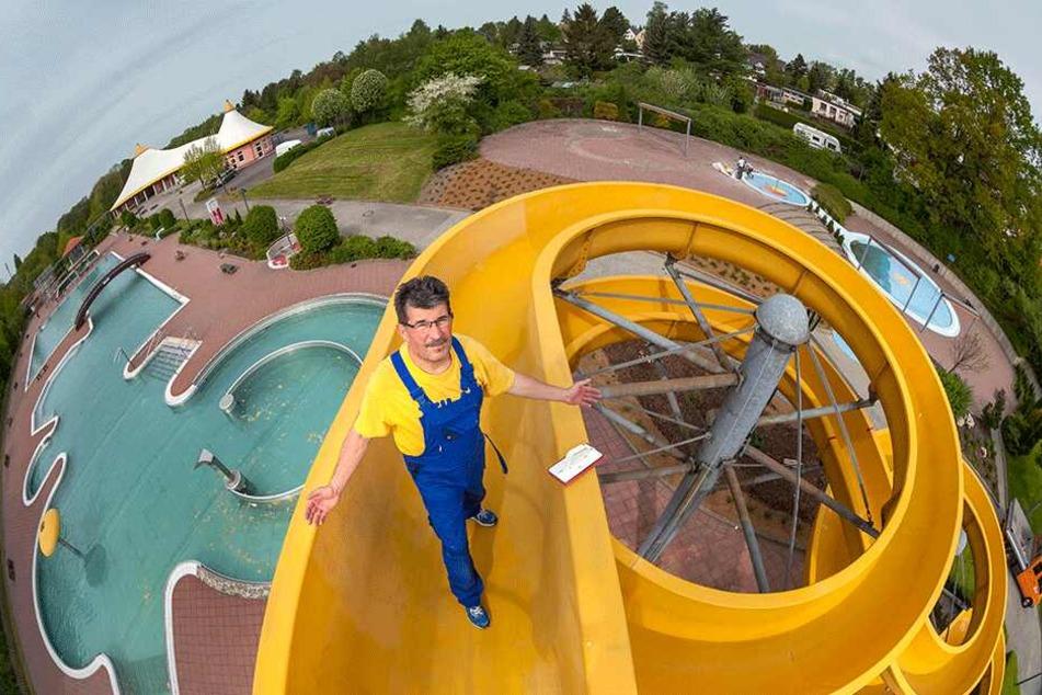 Der Chemnitzer liebt seinen Job. Privat mag er Schwimmen allerdings nicht so gern.