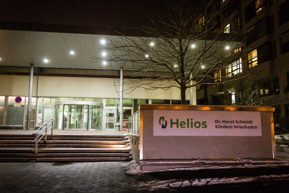 Während seines Aufenthaltes in der Helios Klinik in Wiesbaden ergriff der junge Mann die Flucht.