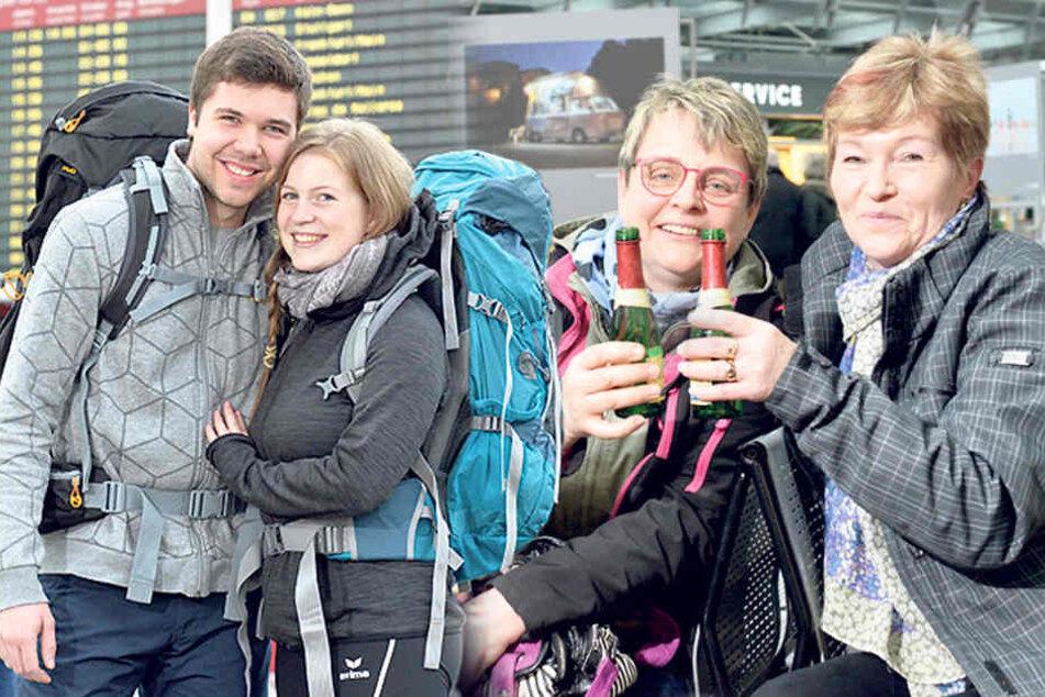Ferien in Sachsen: Aber wohin soll die Reise gehen?
