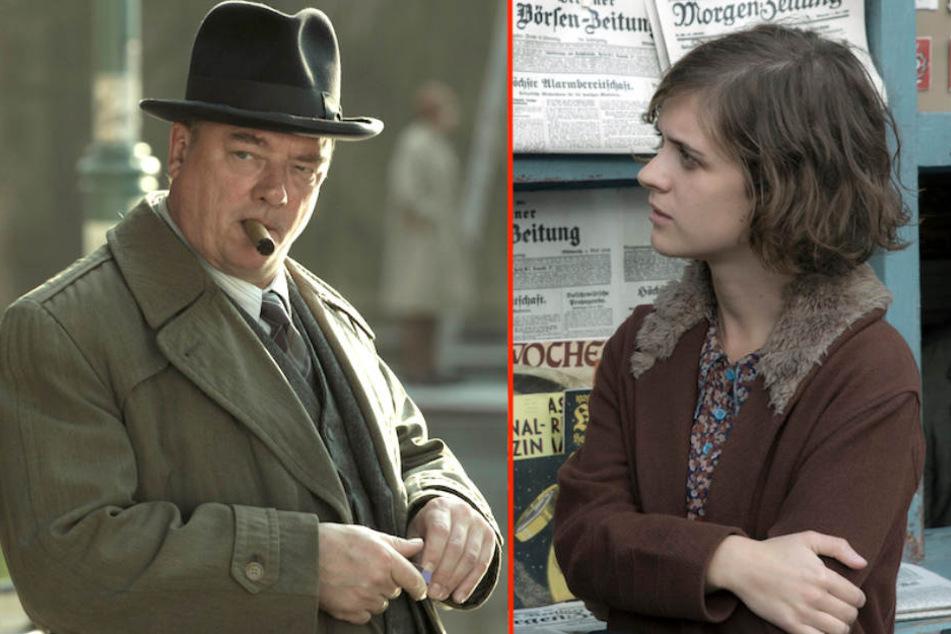 Gelingt der Versuch von Bruno Wolter (Peter Kurth), Charlotte Ritter (Liv Lisa Fries) aus dem Weg zu räumen? (Bildmontage)