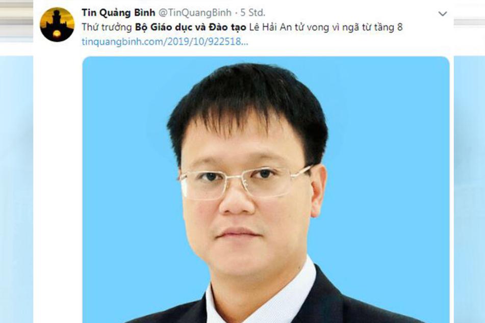 Der verstorbene Vize-Bildungsminister Vietnams.