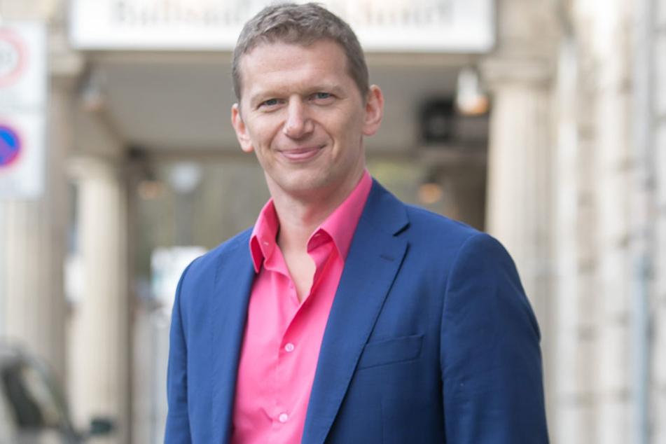 Millionär Jens Hewald (45) will als neuer Eigentümer dem Parkhotel wieder Leben einhauchen. So ist auch ein Café geplant.