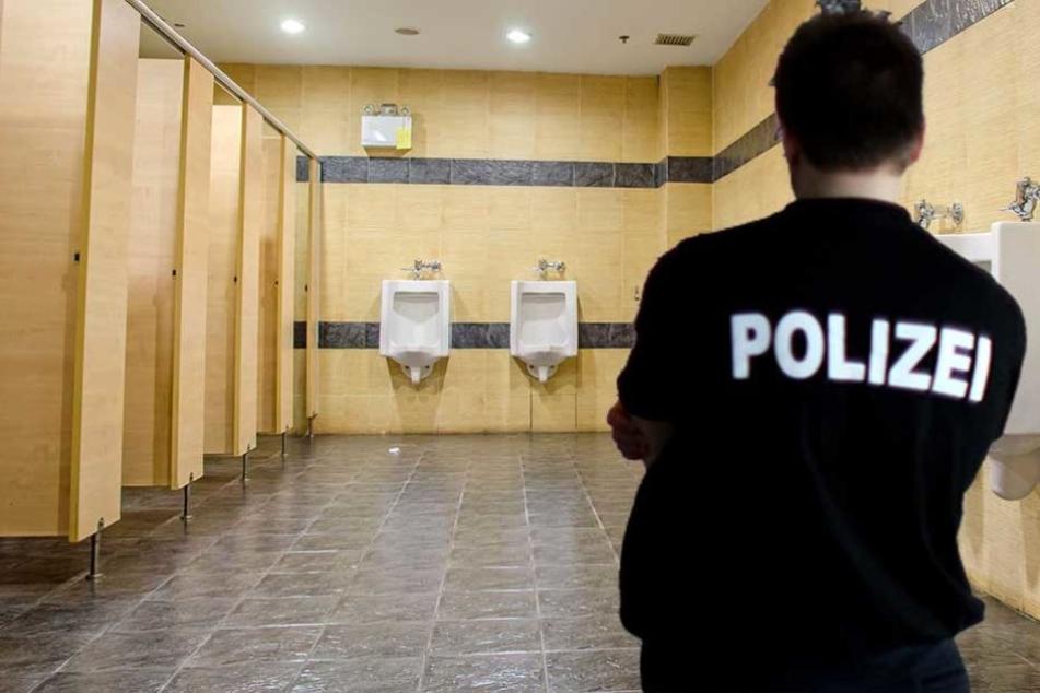 Auf einer Herrentoilette der Polizeischule Ruhleben wurden rassistische Parolen entdeckt (Montag/Symbolbild).