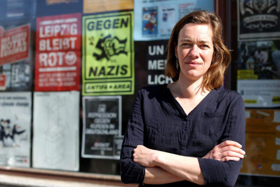 Ebenfalls wissbegierig: Juliane Nagel (40, Linke).