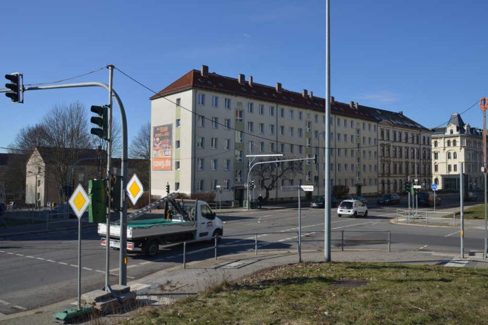 Die Zschopauer Straße wird zwischen Luther- und Ritterstraße voll gesperrt.