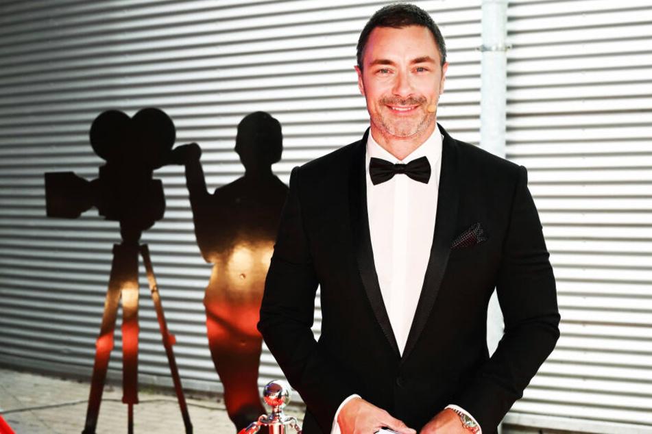 Moderator Marco Schreyl bei der Verleihung des Deutschen Kamerapreises.