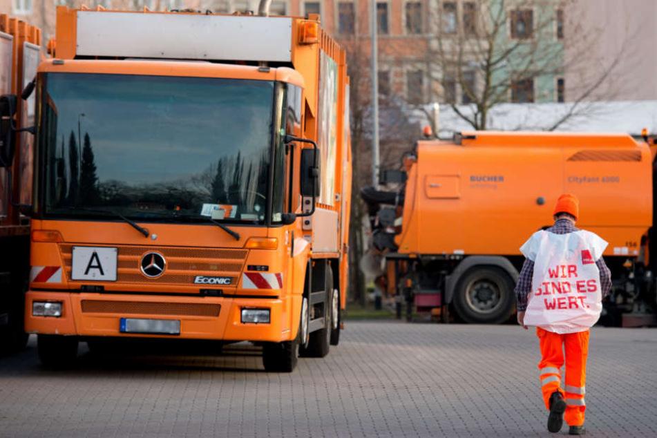 In Erfurt streiken die Stadtwerke. (Symbolfoto).