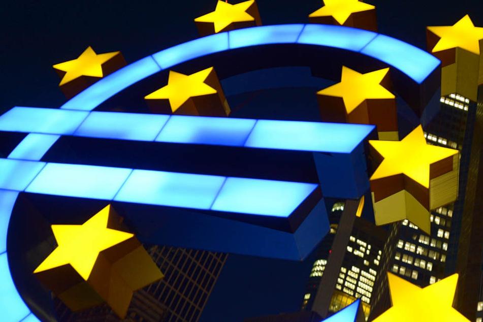 Die EZB hat entschieden: Der Leitzins im Euro-Raum bleibt bei null Prozent.