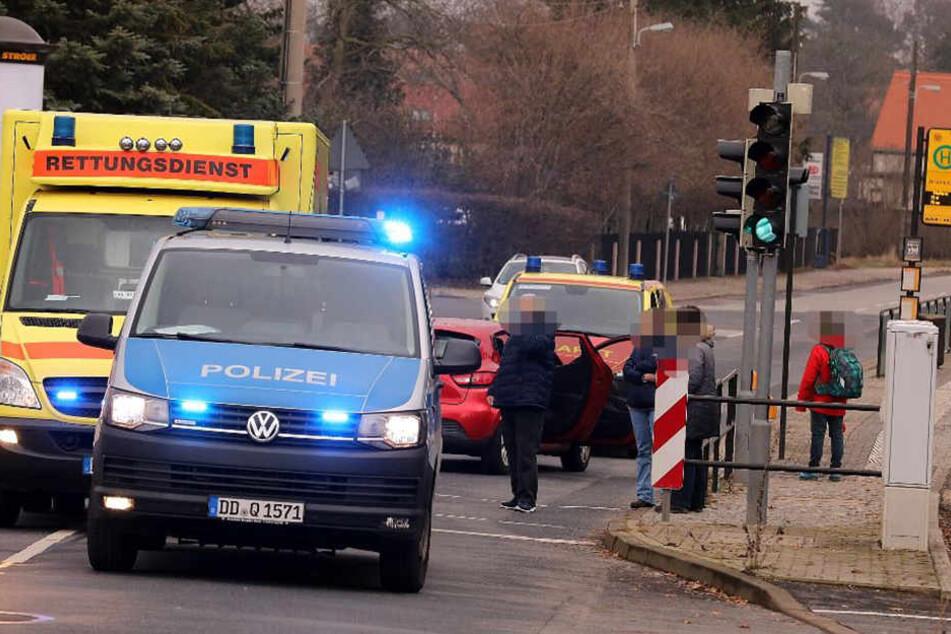 Am Donnerstagnachmittag wurde ein Fußgänger bei einem Verkehrsunfall im Dresdner Stadtteil Klotzsche verletzt.