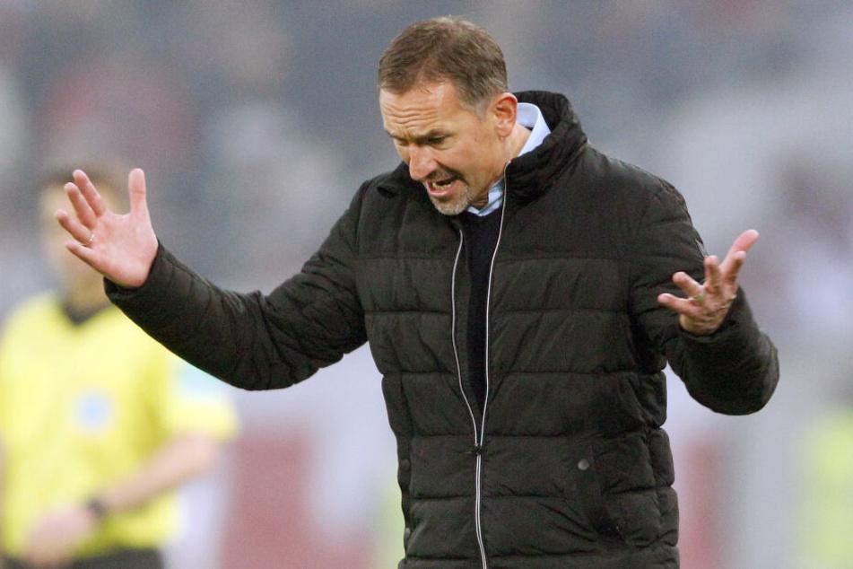 Achim Beierlorzer (51) bleibt vorerst Trainer beim 1. FC Köln.
