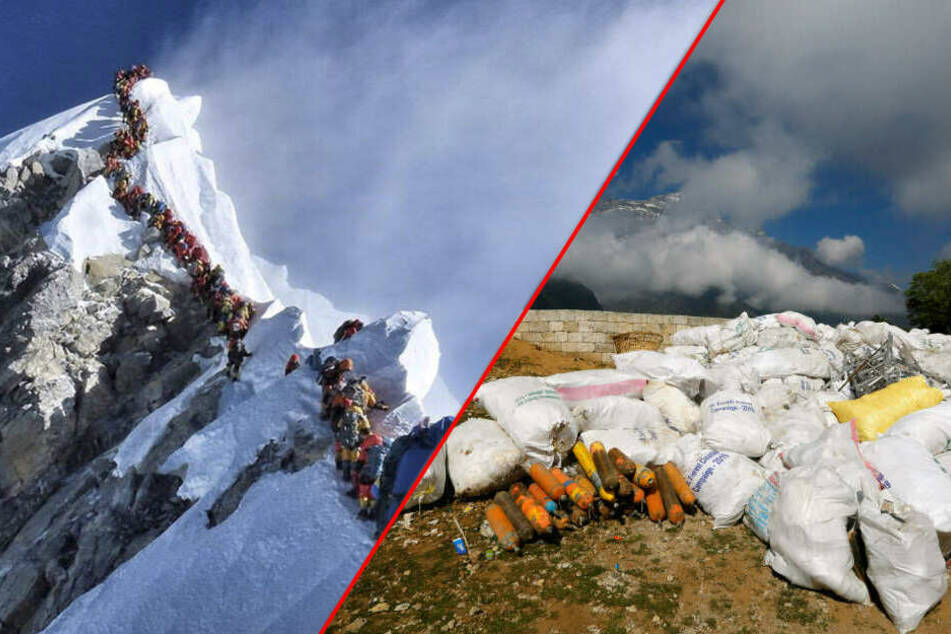 Säuberungsaktion auf dem Mount Everest: Das alles fanden die Helfer!