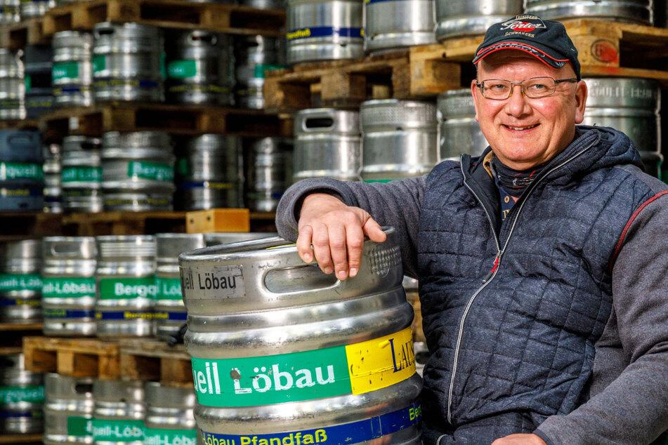 Dresden: Volle Fässer zurück! Löbauer Brauer macht aus Bier einen Brand