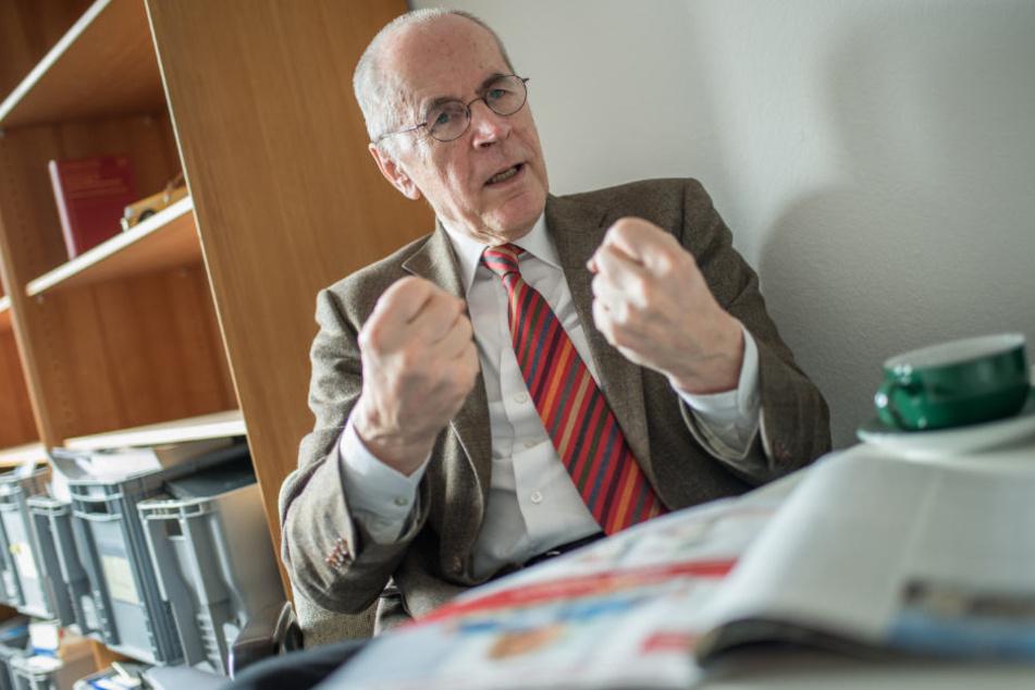 Einer der Autoren der Studie: Christian Pfeiffer, früher Direktor des Kriminologischen Forschungsinstituts Niedersachsen.