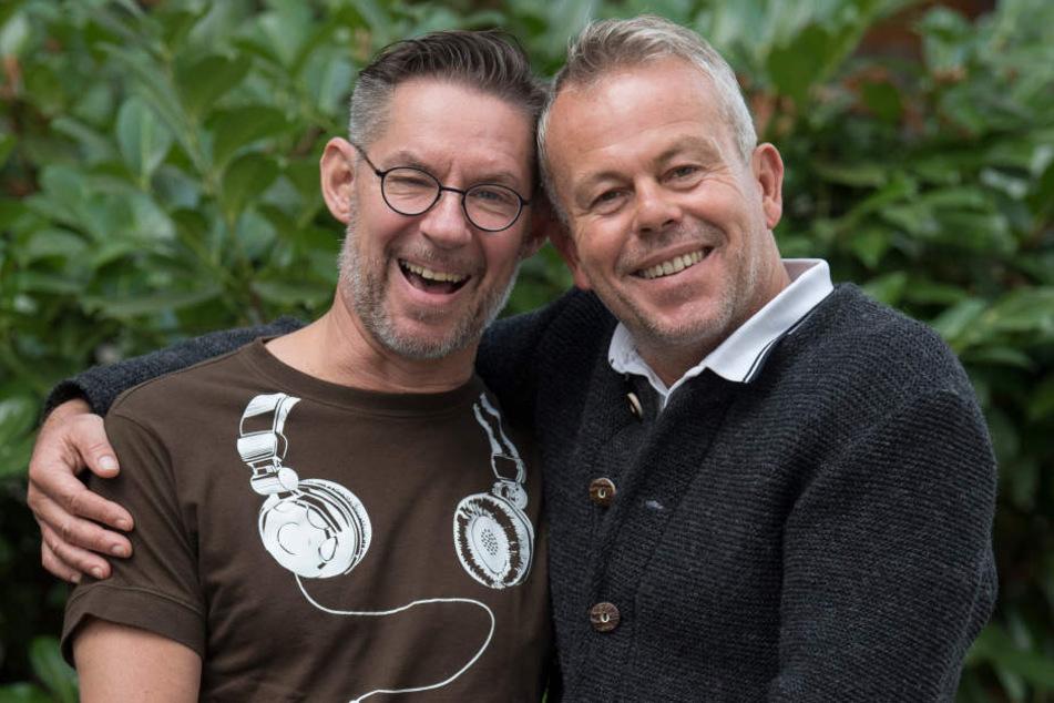Ralf Giese und Martin Daume (r) wollen am kommenden Montag heiraten.